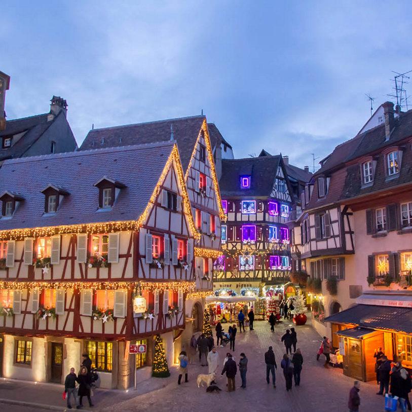 Image De Noel En Alsace.Voyage Marches De Noel En Alsace 3 Jours