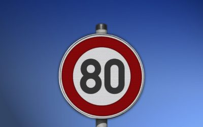 Le compteur à 80km/h