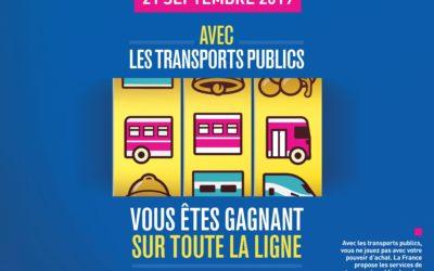 Le Coeur de Maurienne Arvan Bus participe à la journée nationale du transport public !