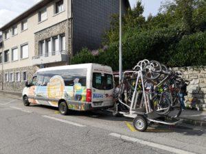 Reportage ligne vélo Les Karellis