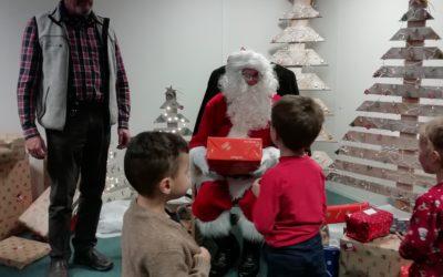 Le CE Trans-Alpes fête Noël