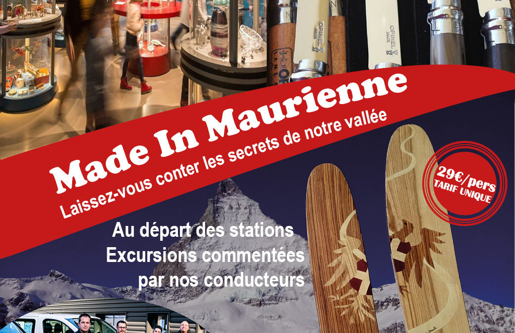 "Lancement ""Made In Maurienne"""