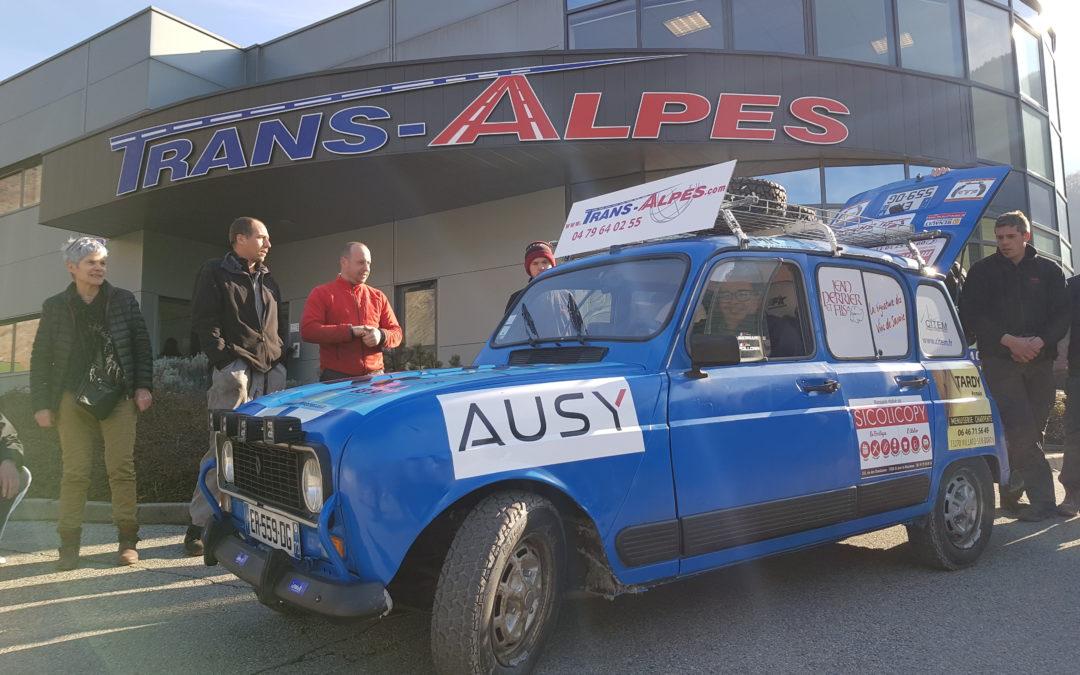 Fabien et Trans-Alpes en course pour le 4L trophy